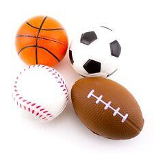108 (9 dozen) Stress Sport Ball Foam Ball Basketball Football Soccer Baseball