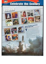 SCOTT # 3190  Celebrate the Century 1980's Issue U.S. Stamps MNH - Sheet of 15