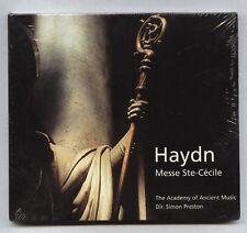 HAYDN Messe Ste-Cecile JUDITH NELSON-Simon PRESTON CD DECCA 470 114-2 - SEALED