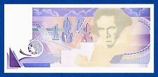 De La Rue Giori Varinota Beethoven Color Trial #1 - Specimen Test Note UNC