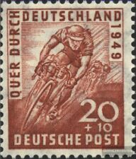 Bizonale (Allied Cast) 107 oblitéré 1949 cyclisme