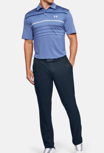 42/30 Under Armour Men's UA Showdown Tapered Pants Academy Navy 1309546 408