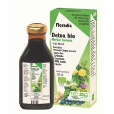Salus Floradix Detox Bio Formule à base de plantes - 250 ml - 90047