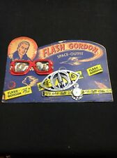 RARE Vintage 1951 Flash Gordon Space Outfit On Original Card Esquire Novelty