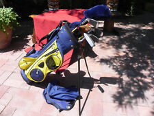 "Junior Dunlop/Ram,  (5) Club Starter Golf Set & Bag, AGE 9-11, *ref. HT 55""-60"""