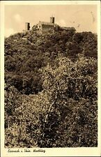 EISENACH Thüringen Burg AK Dt. Reich Bedarfspost 1941 alte Ansichtskarte gelauf.
