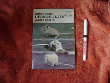 Gerbils rats and mice softback book Helen Perley special book