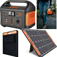 Portable Power Station Inverter Generator w/ Lithium Battery and 100W Portable S