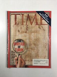 Time Magazine (April 20, 1998) (The Shroud Of Turin)