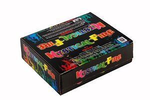 MYSTICAL FIRE - 2 boxes (100 pkts) Camping Fun Coloured Magical Campfire Flames