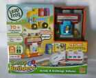 Leap Frog Leap Builders Roads  Railways Vehicles Interactive Playset - New