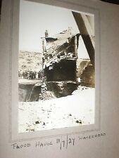Old photographs Waterhead Oldham Manchester flood damage 1927