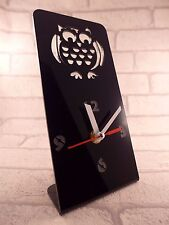 OWL DESIGN PLEXIGLASS Desk Clock-Fnb - 6
