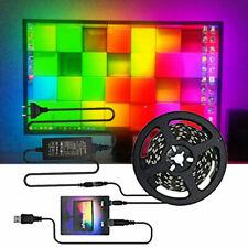 DIY Ambi light TV USB 5050 RGB LED Strip Tape Computer PC Dream Screen Backlight