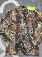 UNDER ARMOUR ColdGear Scent Control Evo Hunting RealTree Shirt size S Small NEW