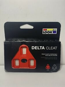 Look Delta Cleat - RED - Road Cleats - Delta system - NEW