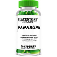 BLACKSTONE LABS - PARABURN 60caps Intense Energy Poison's Fat Dead THERMOGENIC