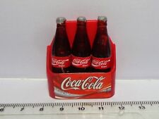 1:12 Scale 3 Coca cola  Bottles In A Case Dolls House Miniature Accessory