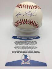 Jerome Walton Signed AUTOGRAPH OMLB Official NL Baseball BAS BECKETT C22706