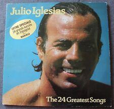 Julio Iglesias, the 24 greatest songs - succés en Espagnol,  2LP - 33 Tours