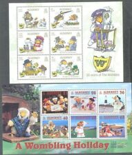 Alderney-Wombles 2 min sheets mnh-issue date(one sheet) Feb 14th 2018.