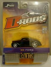 Jada D-Rod$ '40 Ford Hot Rod CLTR 005 diecast 1:64 scale model