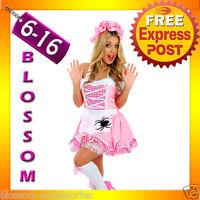 F16 Ladies Little Miss Muffet Storybook Fairy Tale Fancy Dress Halloween Costume