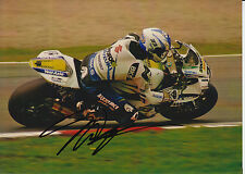 Tommy Hill Crescent Suzuki Hand Signed 7x5 Photo BSB 16.