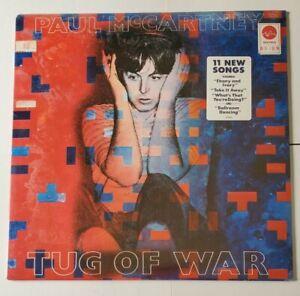 PAUL McCARTNEY - SEALED LP - TUG OF WAR 1982 USA 1stPRESS W/HYPE STICKER