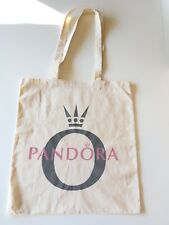 Pandora Tote bag Cotton Shopping bag from designer jewellery store eco recycle