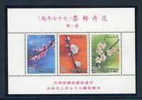 China VR MiNr. Block 38 postfrisch MNH Blüten (W021