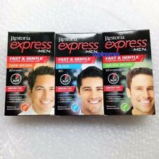 Restoria Express For Men Restoring Dye For Cover Grey Hair Color Shade Cream