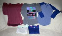 OLD NAVY Lot of 5 Long Sleeve Youth Girl Tops SZ 16 Preowned