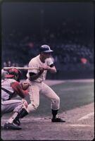 Detroit Tiger Batting 35mm Baseball Slide F13 Cleveland Indians Catcher 1960's