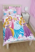 Disney Princess Dreams Wende Bettwäsche 135 x 200 cm NEU Rapunzel Cinderella