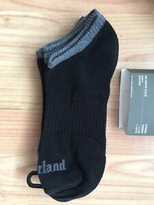 TIMBERLAND ORGANIC NO SHOW 3 PAIRS SOCKS MEN´S CLOTHING BLACK
