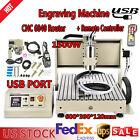 CNC Router Engraving Machine Engraver 6040T 4 Axis Desktop Wood Carving+Remote