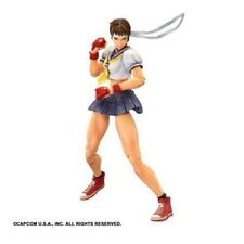 SUPER STREET FIGHTER IV ARCADE EDITION PLAY ARTS Kai Sakura PVC painted F/S
