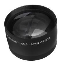 52mm 2x Telephoto Lens for Nikon D5100 Canon EOS 1300D 600D 5D 18mm-55mm