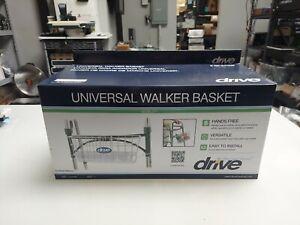 Drive Universal Medical Walker Basket  #10200B Fits Most Walkers