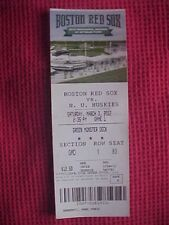 Boston Red Sox Opening of Jetblue Park 2012 Green Monster Ticket Game 1 vs N.U.