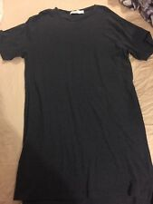 Topman Black T Shirt top size Extra small Mens