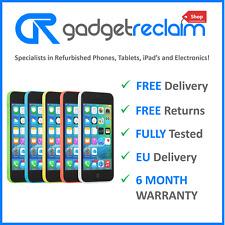 Apple iPhone 5c 8gb 16gb 32gb | Entsperrt/wählen Sie Netz | alle Farben 6m Warr...