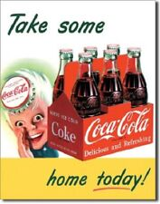 New Coke Take Some Home Today Decorative Metal Tin Sign
