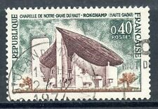 STAMP / TIMBRE FRANCE OBLITERE N° 1435A CHAPELLE HAUT ROMCHAMP