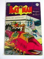 Original DC Batman #80 Dec 53-Jan Robin The Joker Bob Kane GOLDEN AGE Comic Book