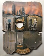 1980 Vintage Original Kenner Star Wars Cloud City Playset Cardboard Backdrop