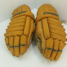 Vintage Cooper 15 Hockey Gloves - Made In Canada