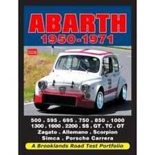 Abarth Bialbero Scorpion SIMCA SS GT TC OT Road test Manual Manuel pour les propriétaires
