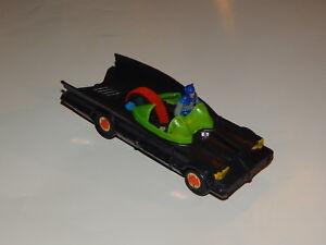 Vintage 1973 AHI Batmobile Azrak Hamway Zip T Pull Cord Toy Batman Robin Car R19